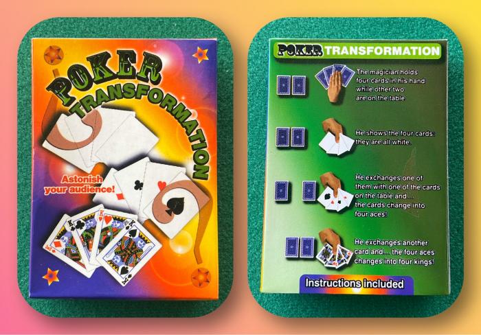 Pachet special - Poker Transformation 0