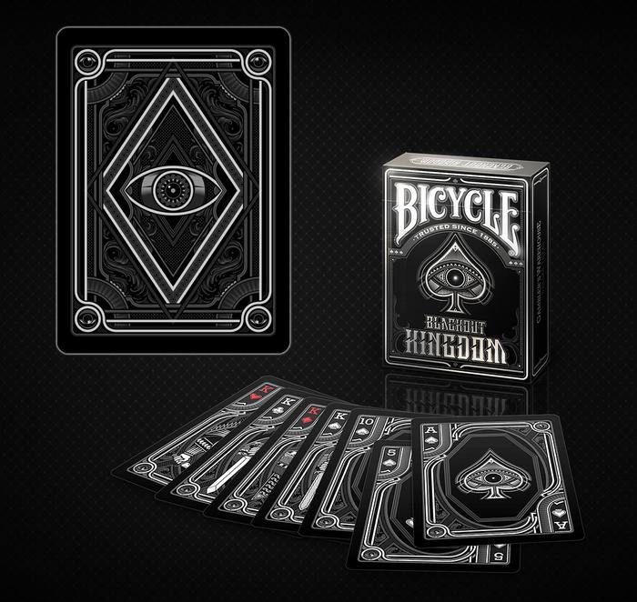 Pachet de carti Bicycle BLACKOUT 0