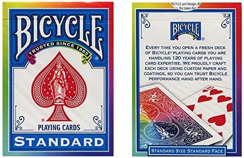 Pachet de carti Bicycle RAINBOW 1