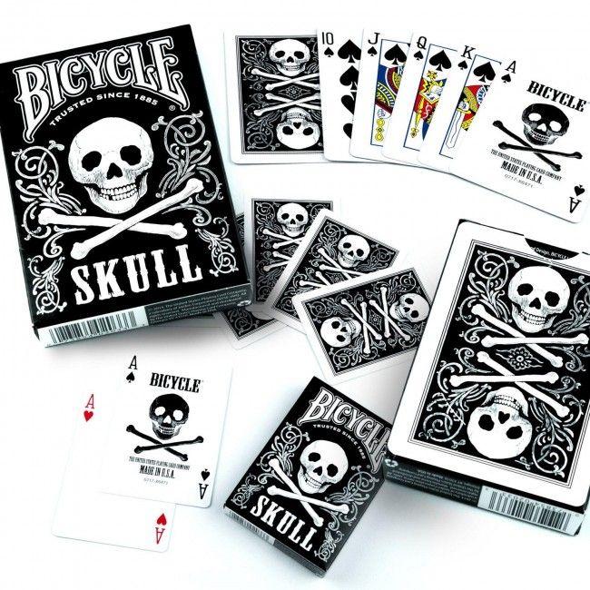 Pachet de carti Bicycle SKULL 3