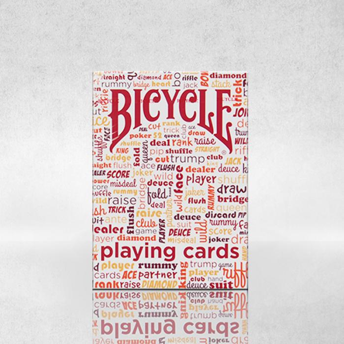 Pachet de carti Bicycle TABLE TALK 3