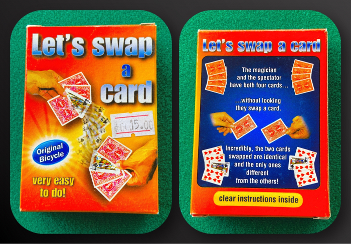 Pachet special - Letts swap a card 0