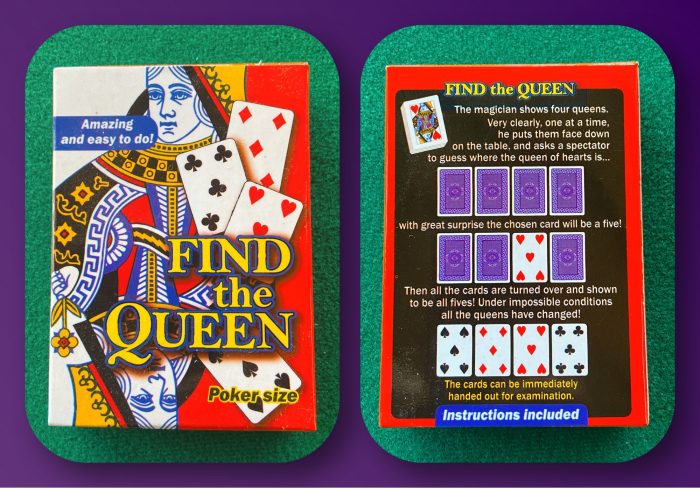 Pachet special - Find the Queen 0