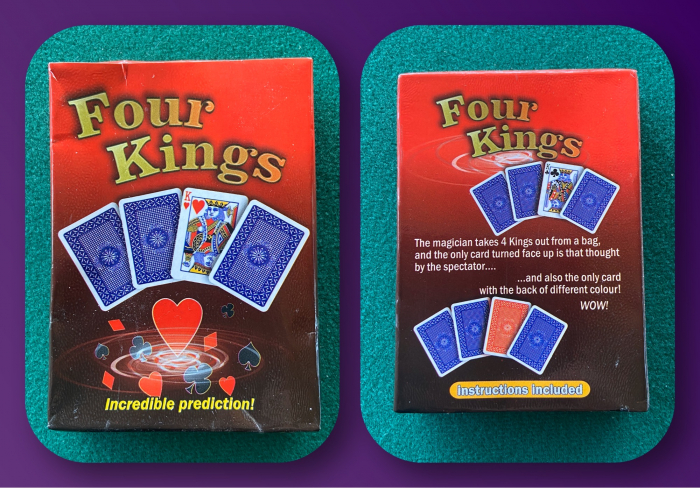 Pachet special - Four Kings 0