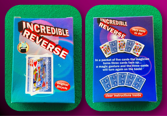 Pachet special - Incredible reverse 0