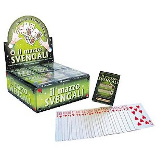 Truc cu carti Svengali 0