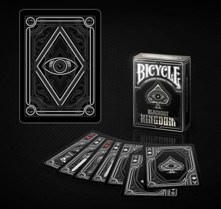 Pachet de carti Bicycle BLACKOUT0