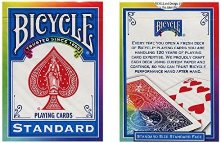 Pachet de carti Bicycle RAINBOW1