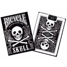 Pachet de carti Bicycle SKULL1
