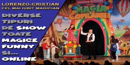 Spectacole de Magie ONLINE / LIVE pentru copilul tău.3