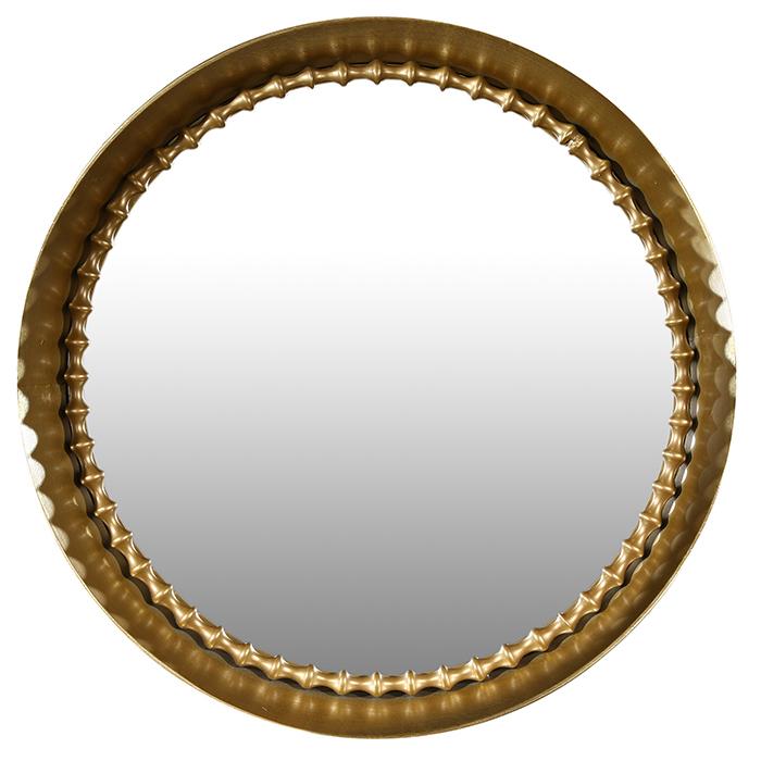 Oglinda CHAIN, metal, 70x9 cm 0