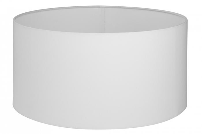Abajur Losone, PVC Poliester, Alb, 37.50x37.50x35 cm 2021 lotusland.ro