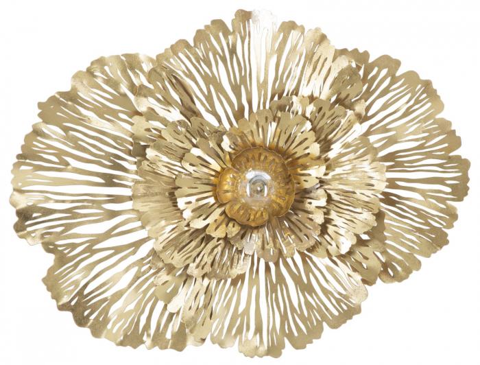 Aplica Ibis, fier, auriu, 79X12X60 cm imagine 2021 lotusland.ro