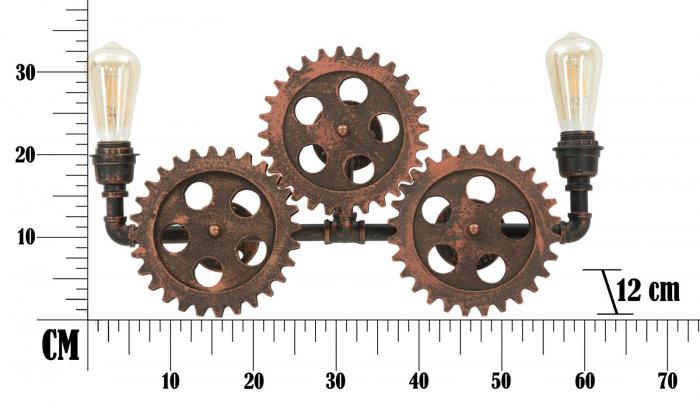 Aplica INGRANAGGIO (cm) 60X12X32 7