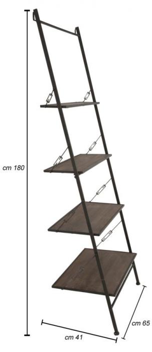 Biblioteca RAW, 65X41X180 cm, Mauro Ferretti [8]