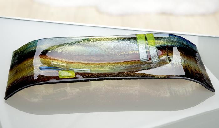 Bol CAMPO, sticla, 27x56x7.5 cm 2021 lotusland.ro