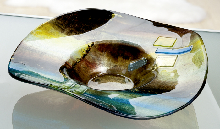 Bol CAMPO, sticla, 48x12.5x48 cm 2021 lotusland.ro