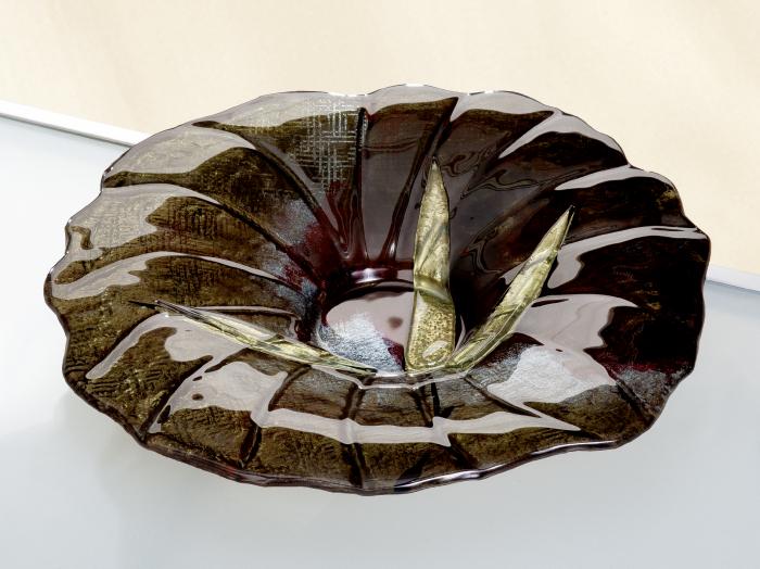 Bol CANNETO, sticla, 7.5x41 cm lotusland.ro