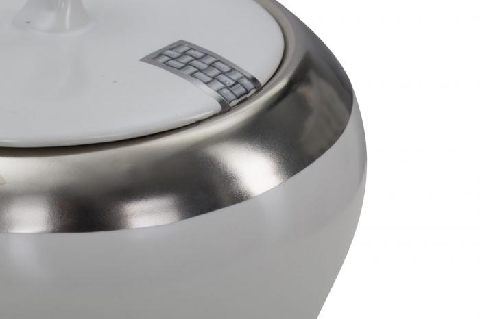 Bol ceramic cu capac LUTTICH (cm) Ø 14X15 3