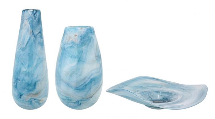Bol PELAGE, sticla, 40x38x11 cm 1