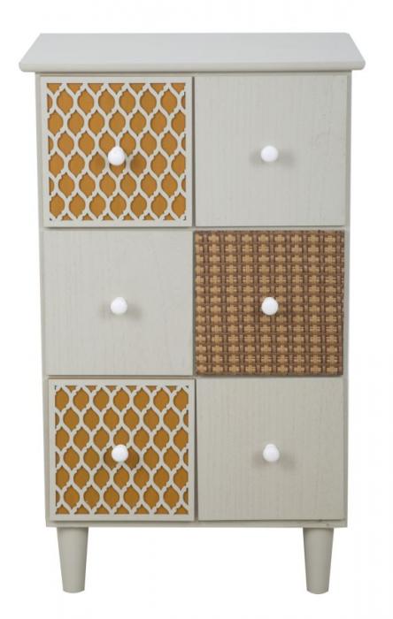 Bufet cu sertare AUNT (cm) 43,5X38X71,5 1
