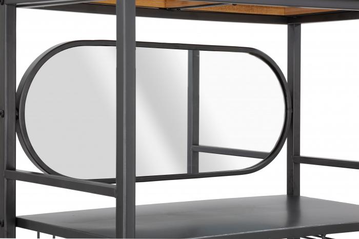 Bufet cu suport sticle INDUSTRY CM 68X37X165, Mauro Ferretti [4]