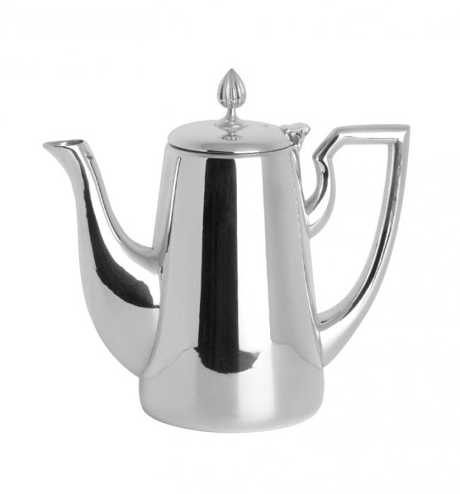 Cafetiera VIENNA, placata cu argint, 20 cm 0
