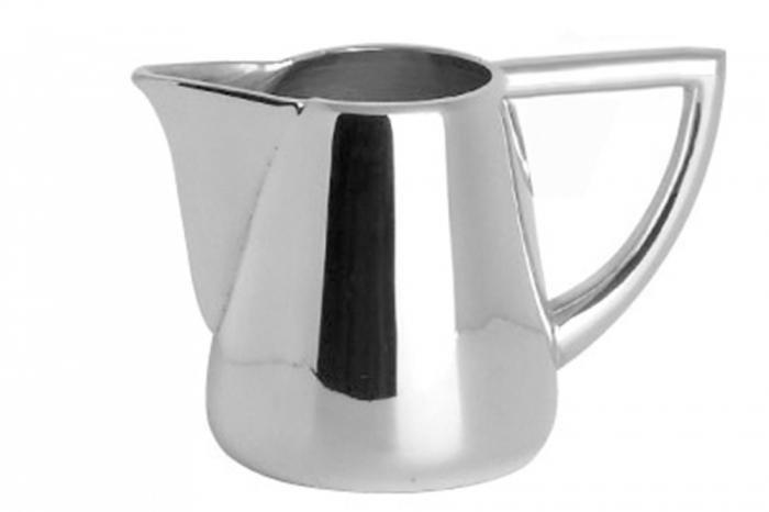 Cana pentru lapte VIENNA, placata cu argint, 6 cm lotusland.ro