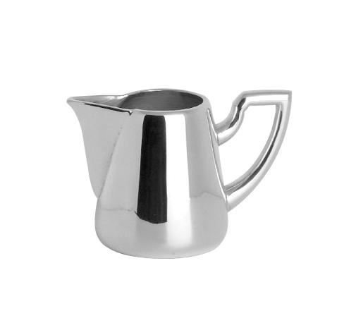 Cana pentru lapte VIENNA, placata cu argint, 8 cm 0