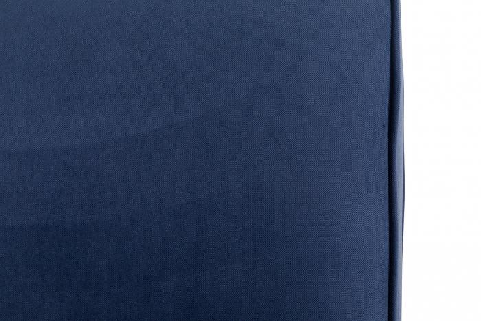 Canapea Chesterfield, 2 locuri, Albastru, 150x80x86 cm 8