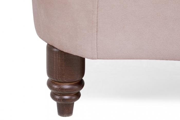 Canapea Chesterfield, 2 locuri, Roz, 150x80x86 cm 7