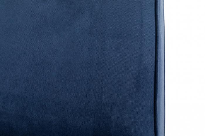 Canapea Chesterfield, 3 locuri, Albastru, 203x80x86 cm 8