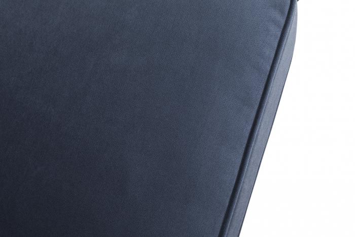 Canapea Chesterfield, 4  locuri, Albastru, 238x80x86 cm 5