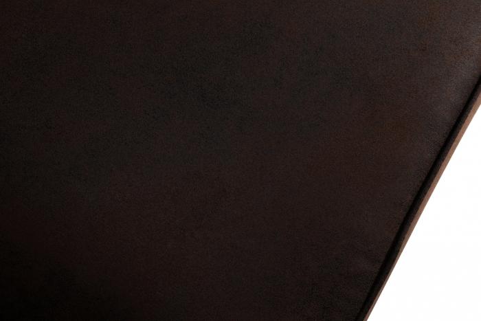 Canapea Chesterfield, 4  locuri, Maro , 238x80x86 cm 4