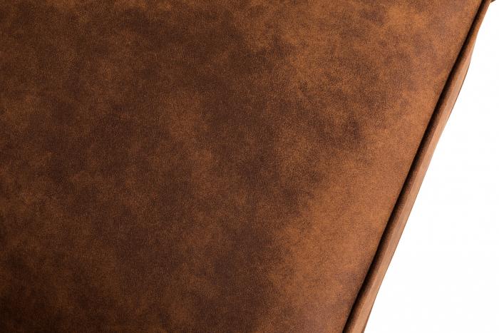 Canapea Chesterfield, 4  locuri, Maro coniac , 238x80x86 cm 7