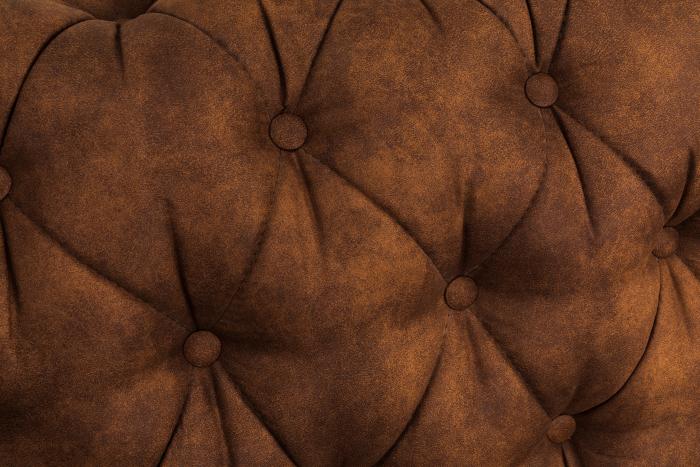 Canapea Chesterfield, 4  locuri, Maro coniac , 238x80x86 cm 6