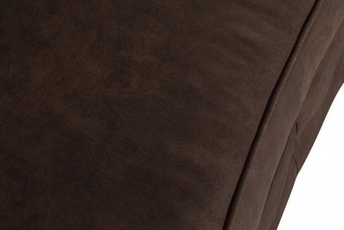 Canapea Chesterfield, Curbata, Maro , 230x80x86 cm 6