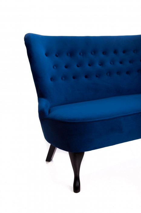 Canapea Diana 3L, Albastru, 140xx86x67 cm 2