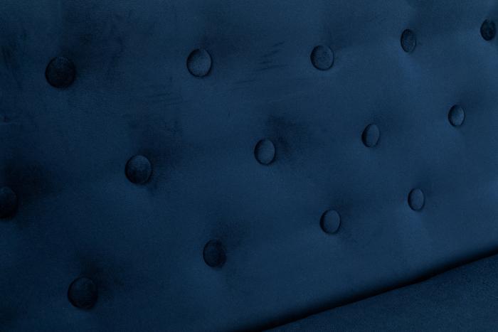 Canapea Mada, Albastru petrol, 140x74x68 cm 6