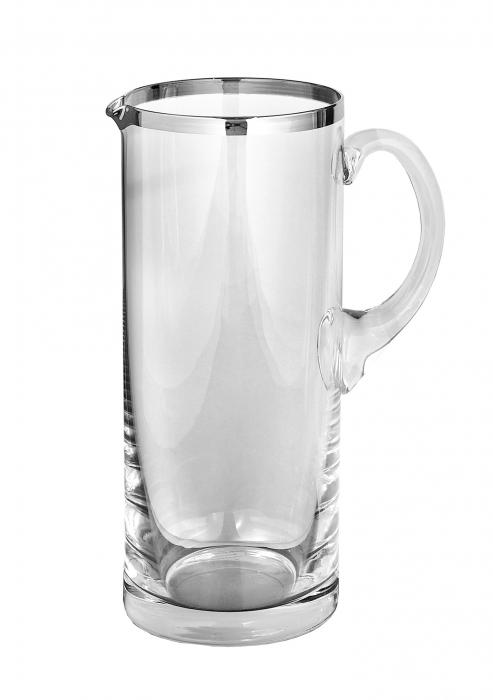Carafa PLATINUM, sticla, 25x10 cm 0
