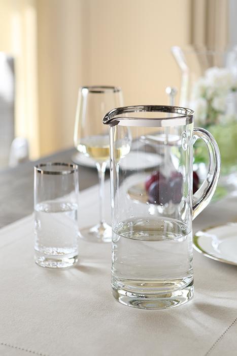Carafa PLATINUM, sticla, 25x10 cm 2