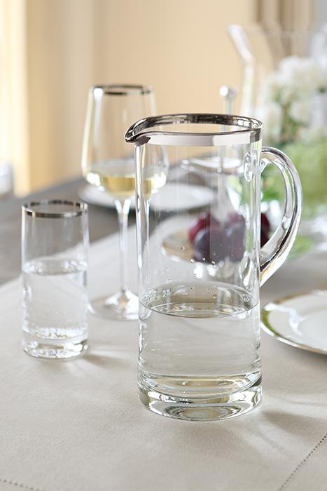 Carafa PLATINUM, sticla, 25x10 cm 1