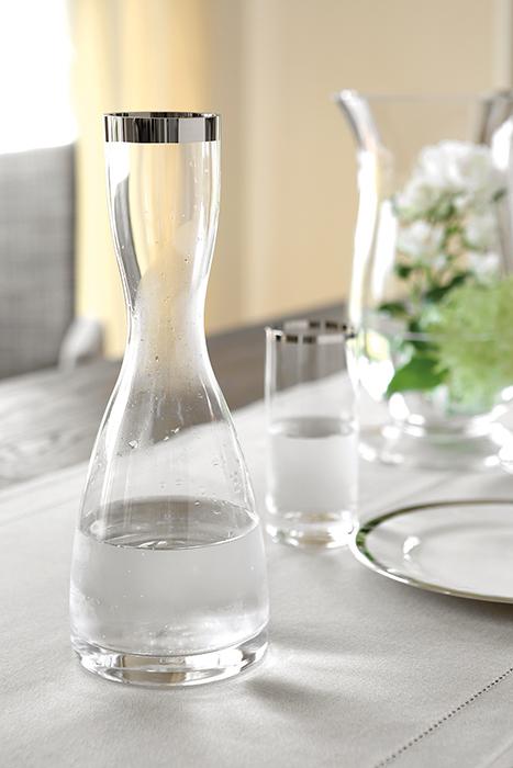 Carafa PLATINUM, sticla, 30 cm 2
