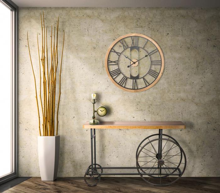 Ceas de perete INDUSTRY, 70X5 cm, Mauro Ferretti [4]