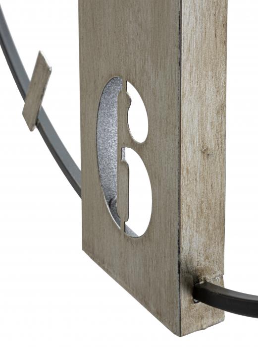 Ceas de perete SILVERY CM 61X4,5X63, Mauro Ferretti [1]