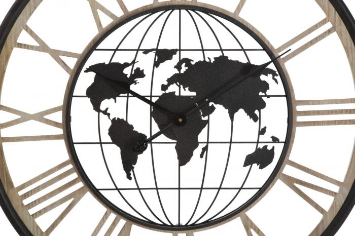 Ceas de perete WORLD, 70X5 cm, Mauro Ferretti 1