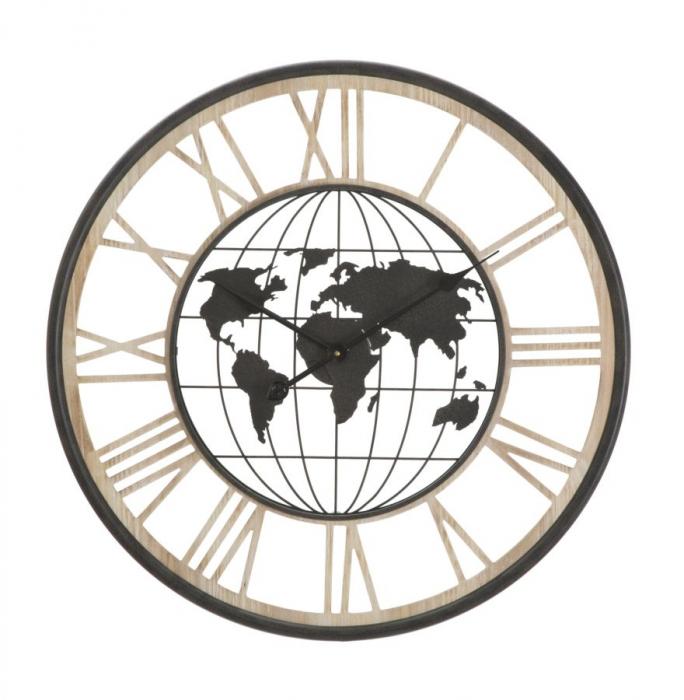 Ceas de perete WORLD, 70X5 cm, Mauro Ferretti 0