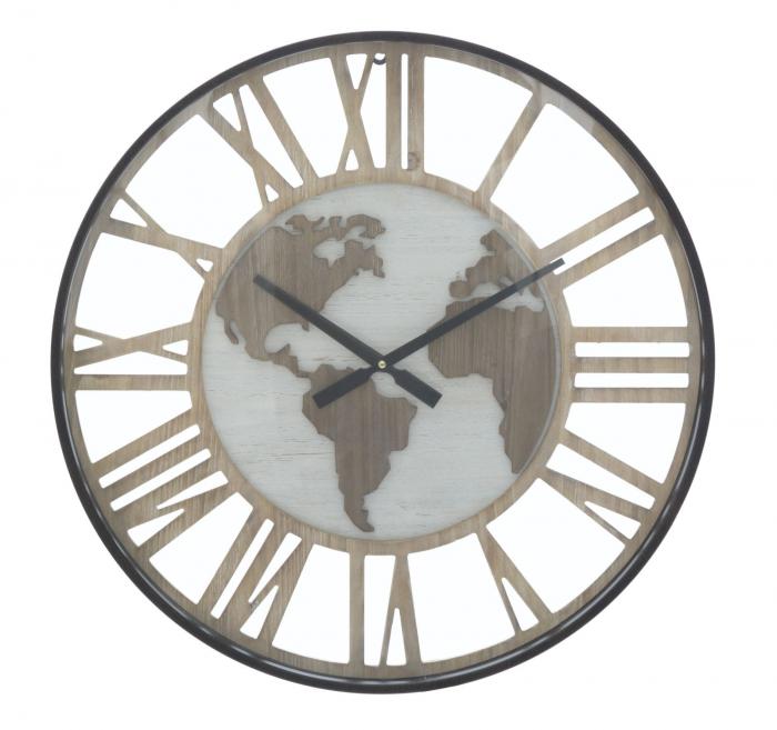 Ceas de perete WORLD CLASS, 60X6 cm, Mauro Ferretti  0