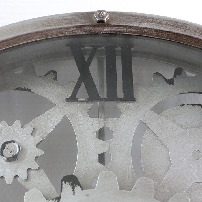 Ceas de perete LOFT, metal, 60x8 cm 2