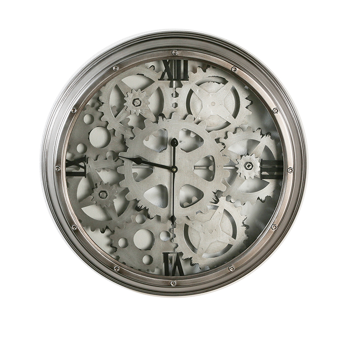 Ceas de perete LOFT, metal, 60x8 cm 0